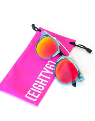 Eighty6 Overhang Aqua Sunglasses, Eighty6 - kinilush