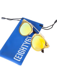 Eighty6 Overhang Yellow Sunglasses, Eighty6 - kinilush