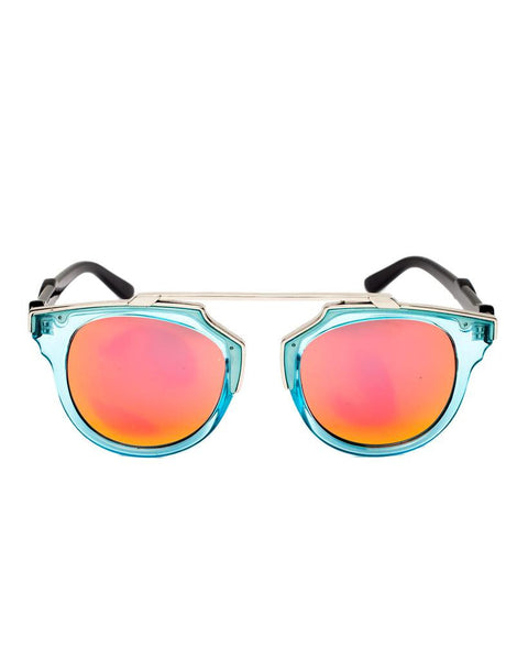 Eighty6 Overhang Aqua Sunglasses