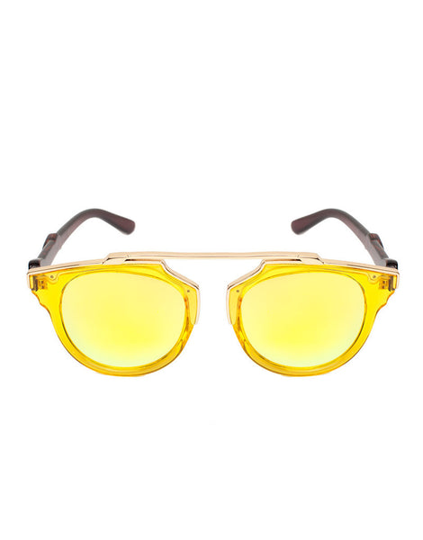Eighty6 Overhang Yellow Sunglasses