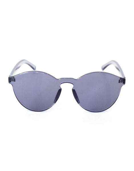 Eighty6 See-Through Black Sunglasses