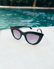 EIGHTY6 IBIZA BLACK-GOLD SUNGLASSES, Eighty6 - kinilush