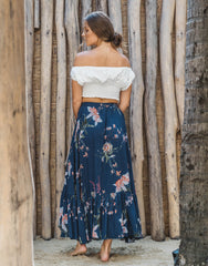 ULU FLORENCE MAXI SKIRT AFTERNOON, ULU THE LABEL - kinilush