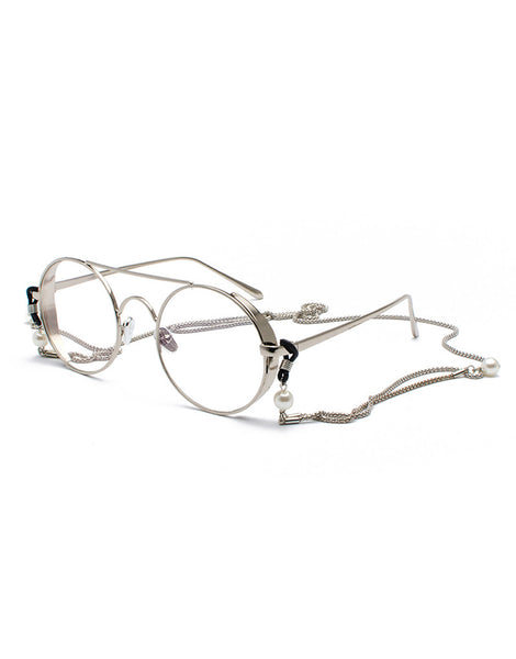 EIGHTY6 ORLANDO SILVER SUNGLASSES