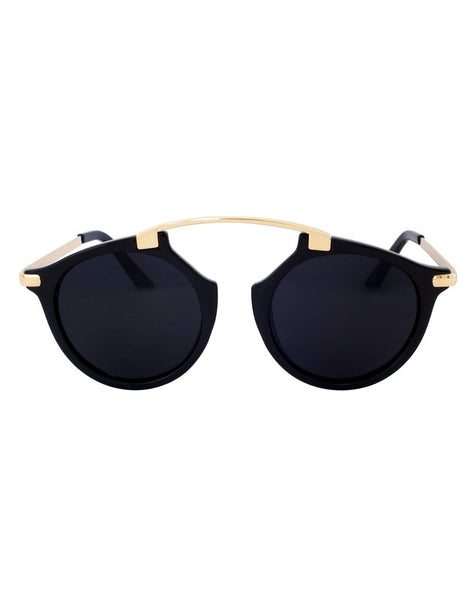 Eighty6 Mischiefs Black Sunglasses