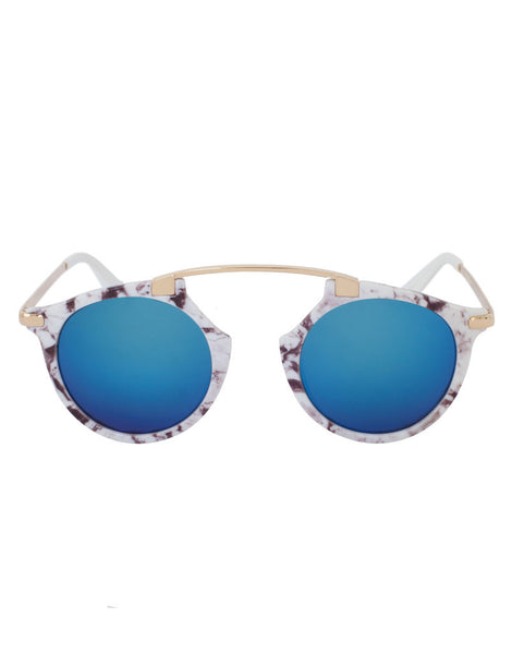 Eighty6 Mischiefs Blue Ice Sunglasses