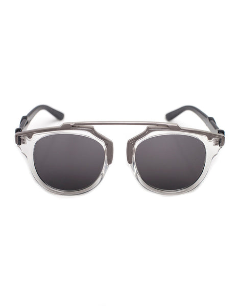 Eighty6 Overhang White/Silver Sunglasses