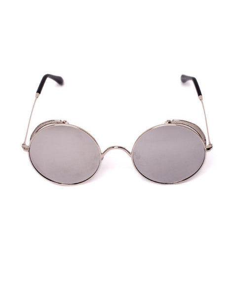 cafddaa18e Eighty6 Skinny Silver Sunglasses