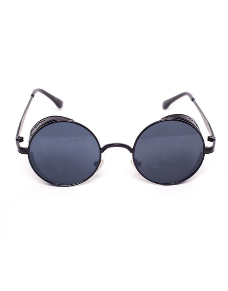 37e7e55c96 Eighty6 Ornament Black Sunglasses
