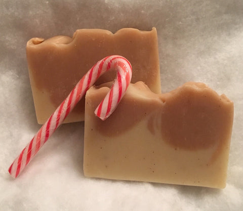 Candy Cane Shea Butter Soap