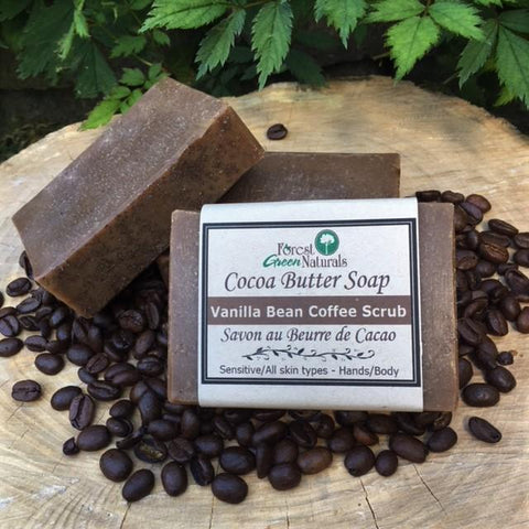 Cocoa Butter Coffee Scrub Soap