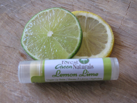Vegan Lemon Lime Lip Balm