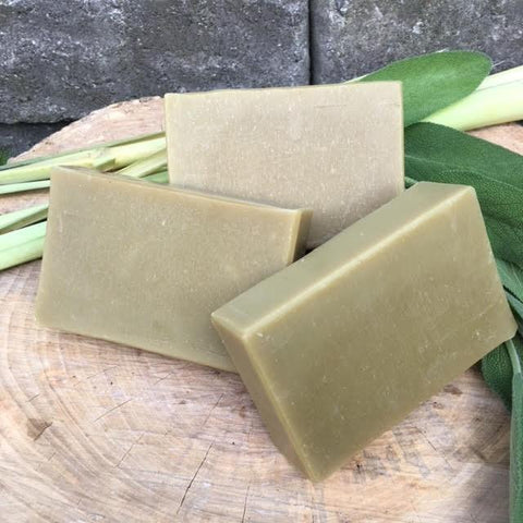 Lemongrass & Sage Green Tea Soap