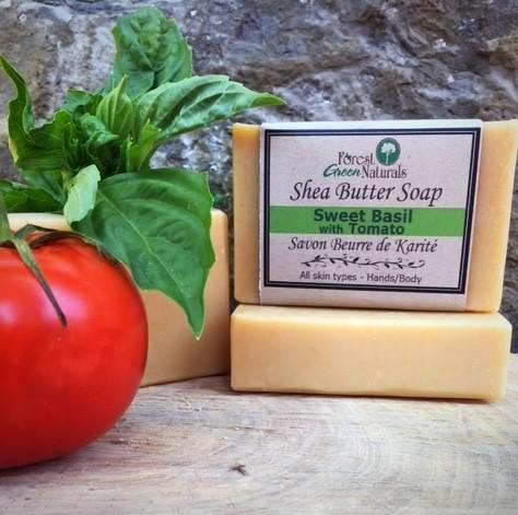 Sweet Basil & Tomato Shea Butter Soap