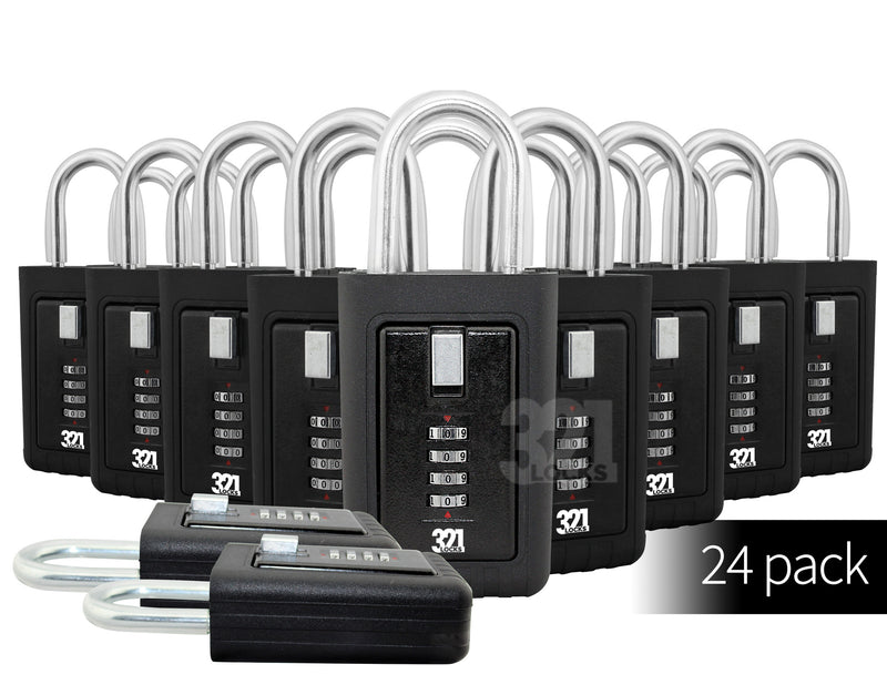 Realtor Key Lock Box LB-003 Multi 24 Pack