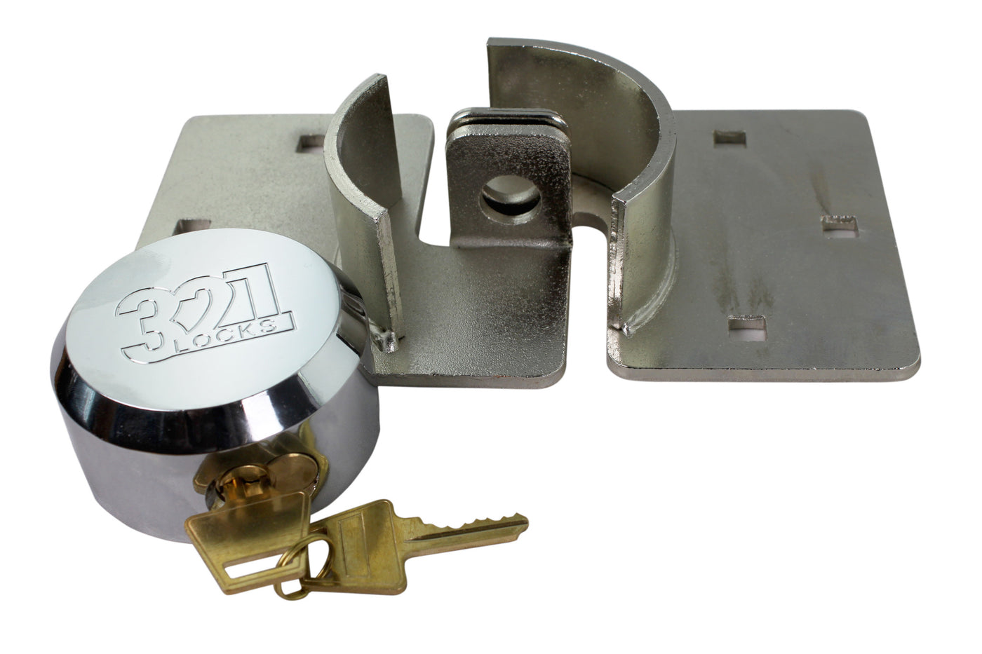 Cargo Van Locks : Cargo trailer lock van door with hasp locks