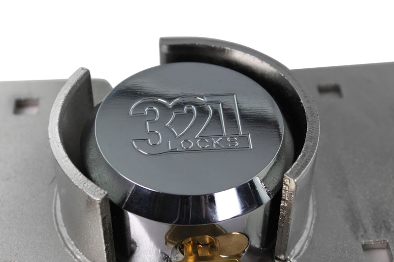 321 Locks© Puck Lock with Hasp