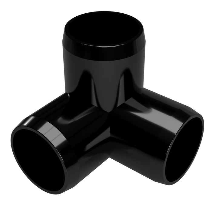 1-1/2 in. 3-Way Elbow PVC Fitting (Box of 60)