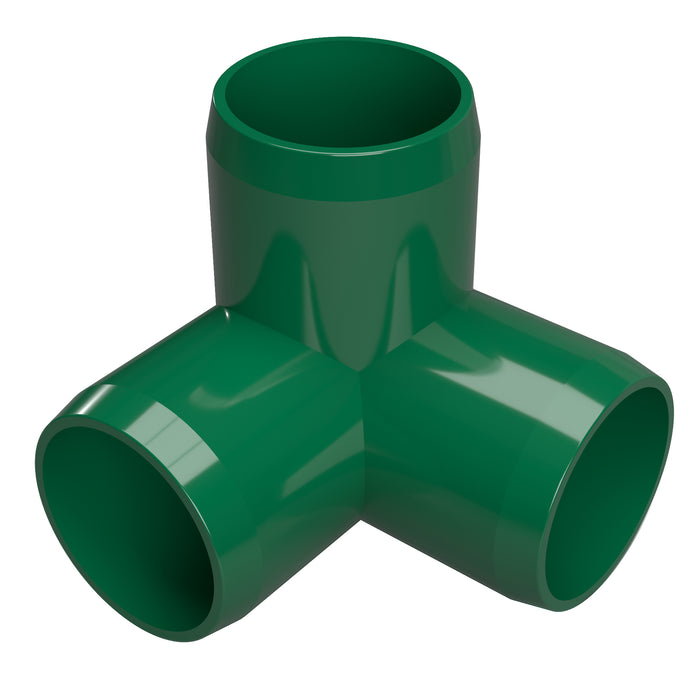 1/2 in. 3-Way Elbow PVC Fitting (Box of 100)