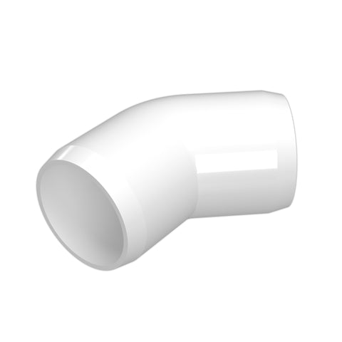 1-1/2 in. 45 Degree PVC Fitting (Box of 125)