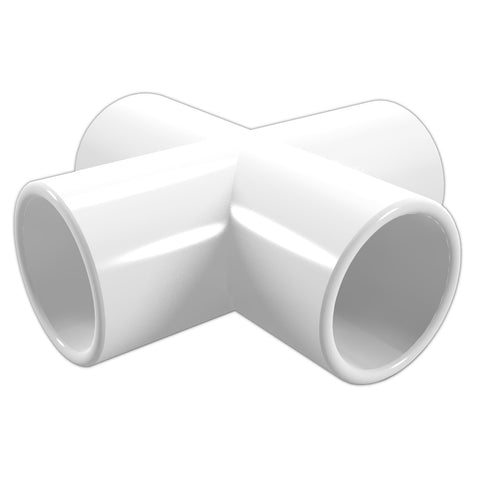 2 in. Cross PVC Fitting (Box of 30) - FORMUFIT Wholesale - 1