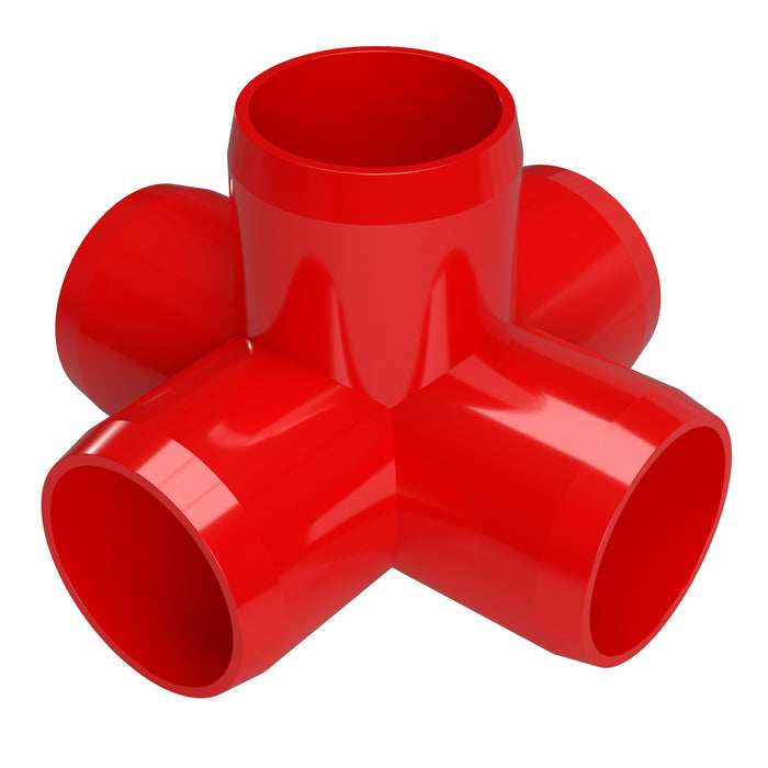 1/2 in. 5-Way Cross PVC Fitting (Box of 80)