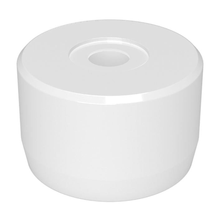 1-1/4 in. PVC Caster Pipe Cap for 7/16 in. Caster Posts (Box of 200)