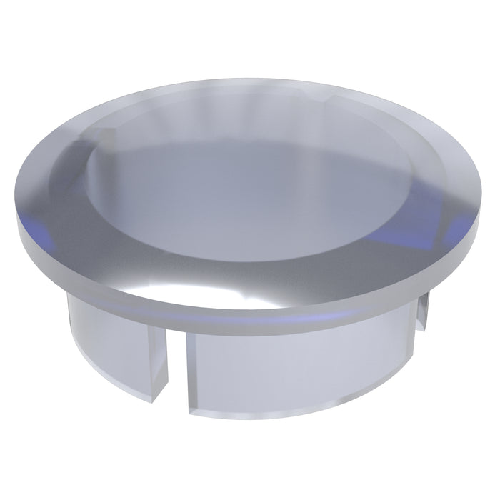 1-1/4 in. Clear PVC Internal Domed End Cap (Box of 50)
