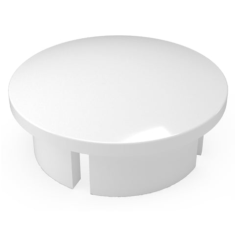 1/2 in. PVC Internal Domed End Cap (Box of 200)