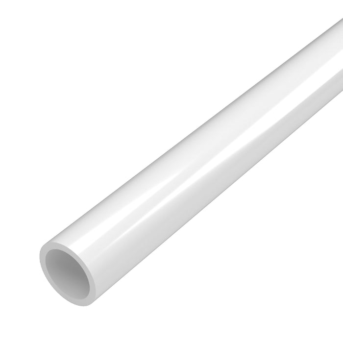 1/2 in. Schedule 40 PVC Pipe (Bundle of 250 Feet, Custom Cut Pipe)