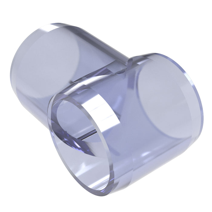 1 in. Slip Tee Clear PVC Fitting (Box of 25)