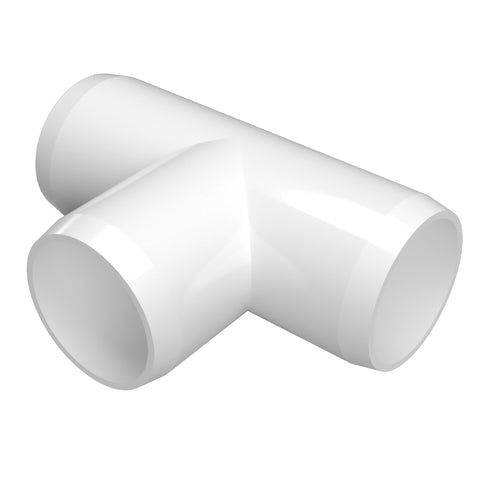 1-1/4 in. Tee PVC Fitting (Box of 100)