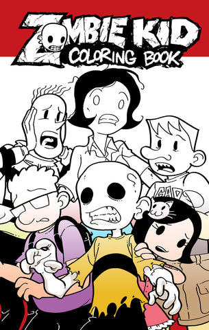 Zombie Kid Diaries: Coloring Book