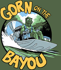 Gorn on the Bayou T-shirt