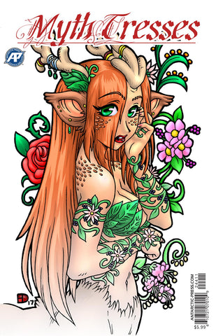 Myth-tresses Coloring Book