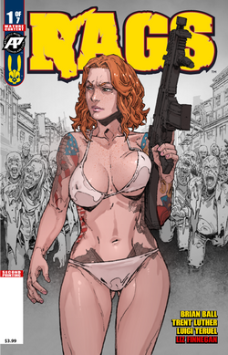 Rags #1 Second Printing