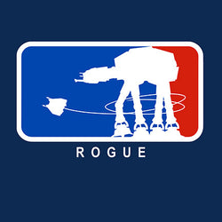Major Rebel Base-Ball T-shirt
