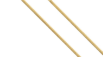 14k Gold Miami Cuban Chain Necklace 2.6 MM