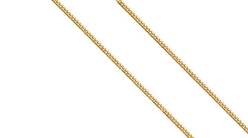 14k Gold Miami Cuban Chain Necklace 2.2 MM