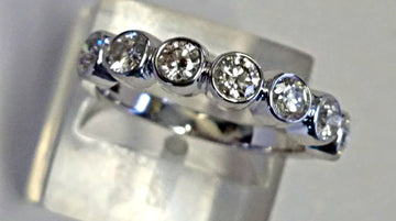 7 Stone Diamond Ring Band