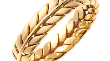 Hand Braided Ring Band