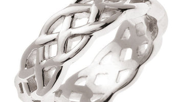 Celtic Knot Ring Band