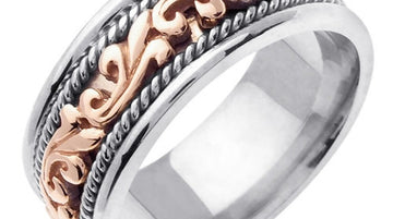 9mm Pasley Hand Braided Ring Band