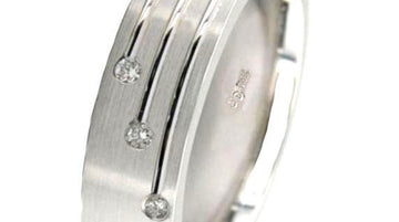 Three Stone Wedding Ring Band