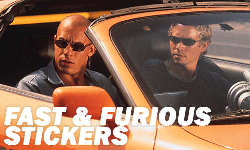 Fast and the Furious Stickers