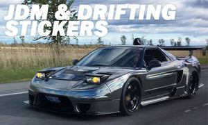 JDM - Drifting Stickers