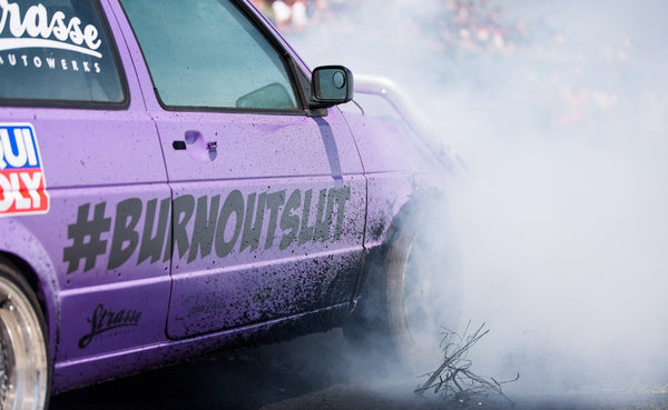 """#BURNOUTSLUT"" Sticker"