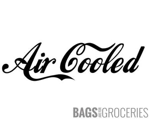 Air Cooled Sticker