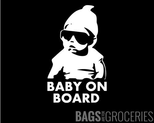 Baby on Board aka Carlos Hangover Sticker
