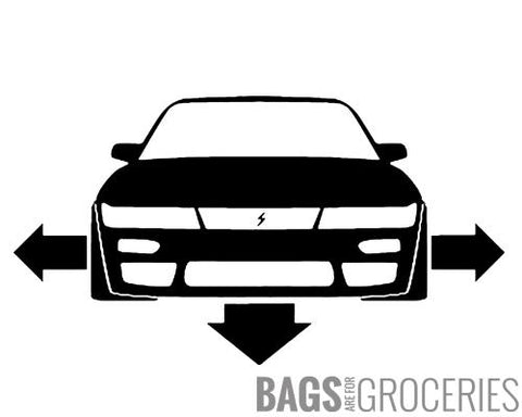 Down and Out 240sx S13 Silvia Sticker